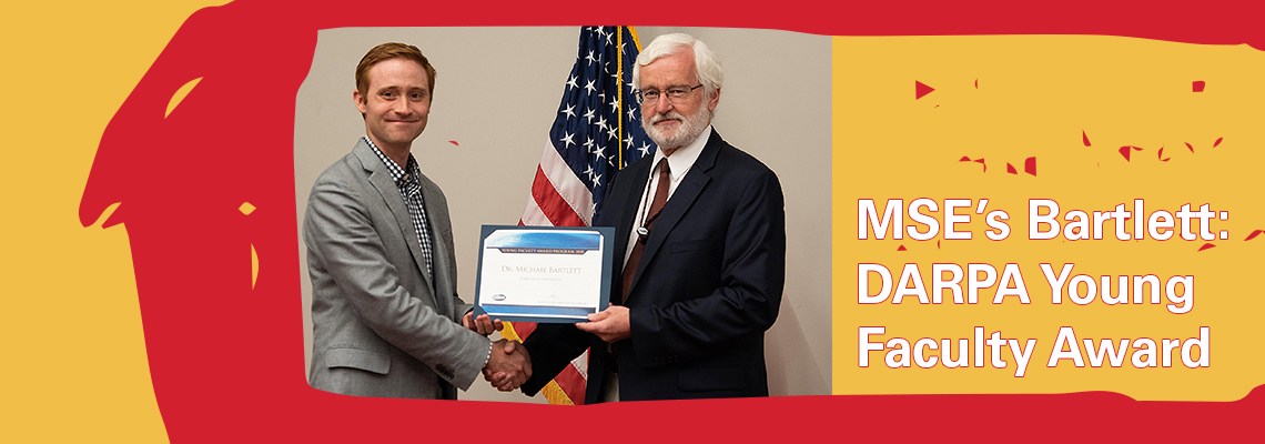MSE Bartlett Young Faculty Award