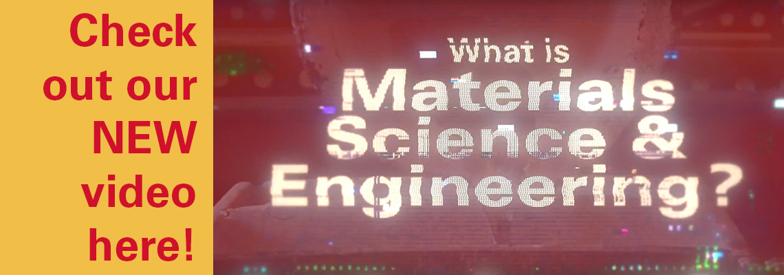 What is Materials Science & Engineering? Video