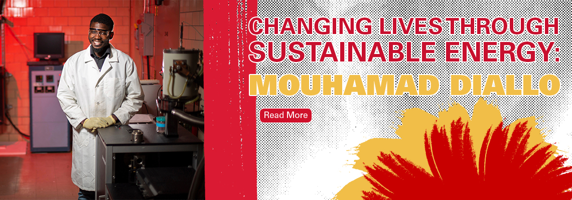 Changing Lives Through Sustainable Energy: Mouhamad Diallo