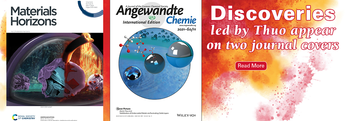 Discoveries led by Thuo appear on two journal covers. Click here to read more
